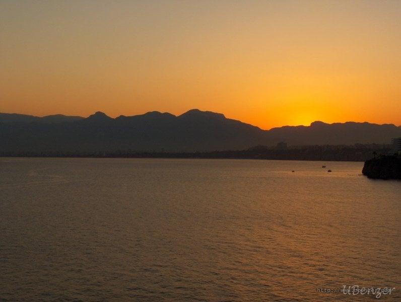 Antalya'da Gün Batımı (Muratpaşa, Antalya)