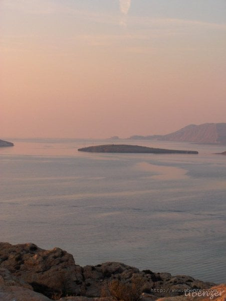 Foça'da Gün Batımı