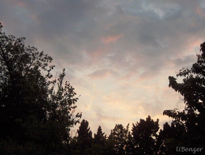 Yeşil Köşk'te Gökyüzü