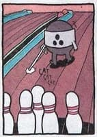 EBMT Bowling Turnuvası Yan Karikatür