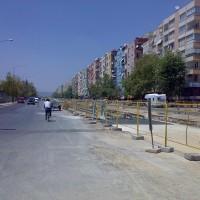 Antalya Hafif Raylı Sistem 1. Etap İnşaatı