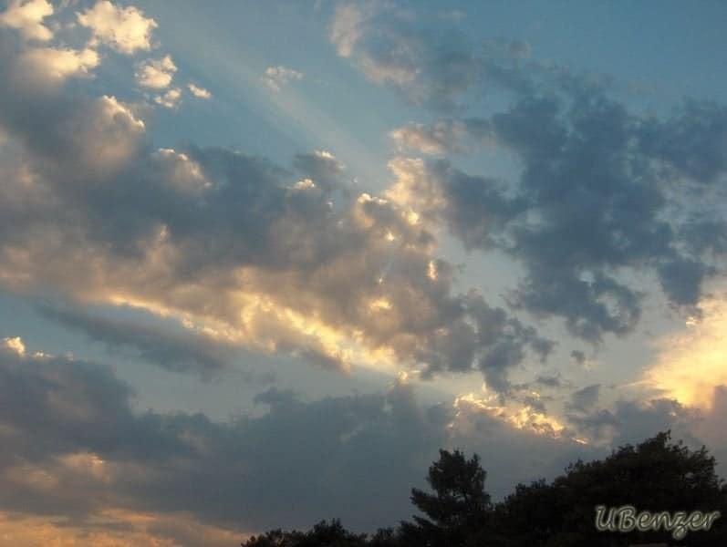 Antalya Yolunda Gökyüzü