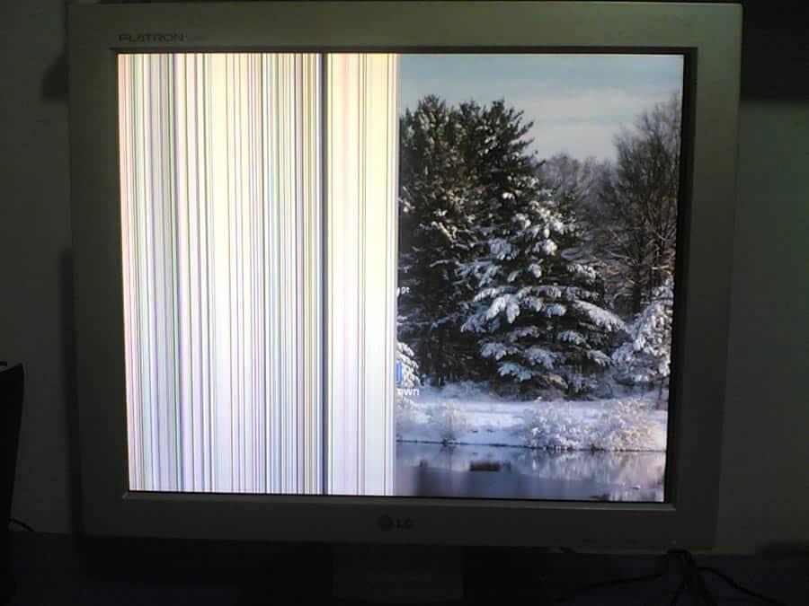 Bozuk LCD Monitör