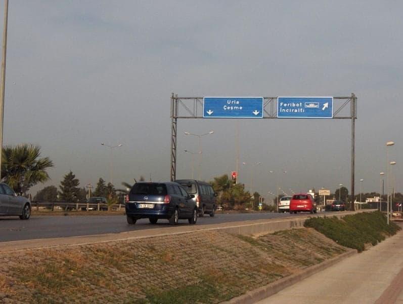 Balçova sınırına vardık.