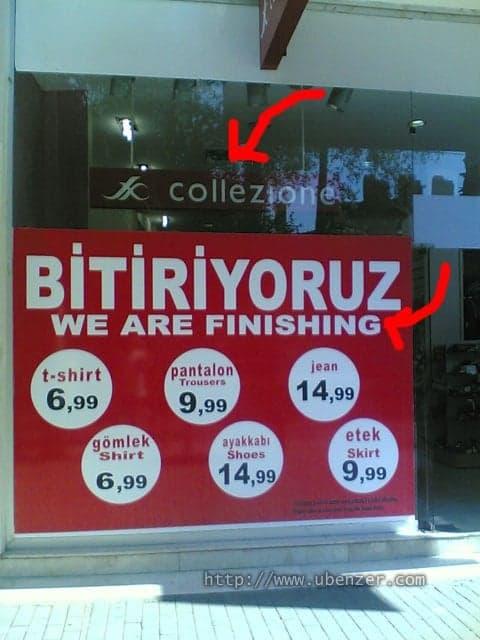 Türkilizce: We're Finishing