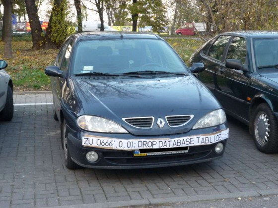 sql injection plate