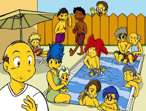 simpsons pool