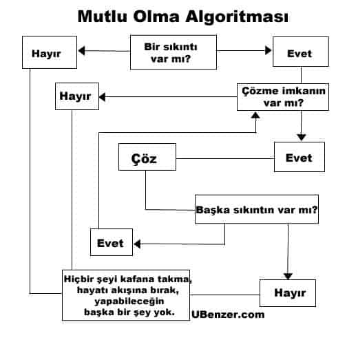 mutlu olma algoritmasi