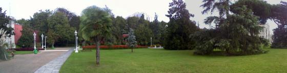 Dolmabahçe Sarayı Bahçesi
