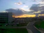Sabiha Gökçen Havaalanı'ndan Gün Batımı