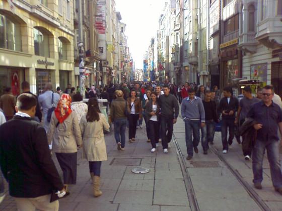İstiklal Caddesi, Taksim