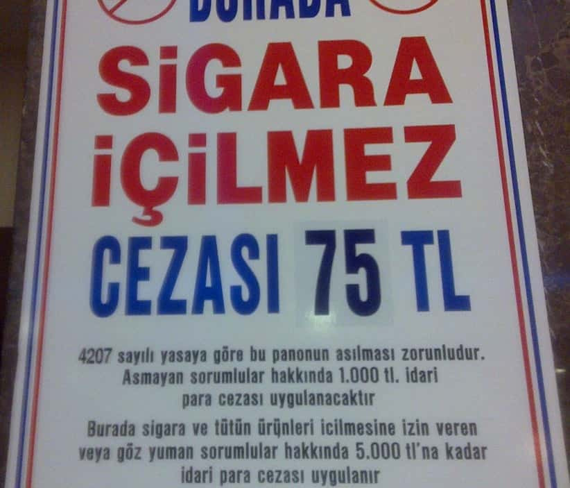 Özdilek- Antalya Kepez Yazım Hatası Sigara
