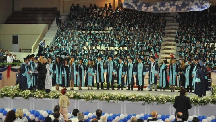 Mezuniyet Töreni Ege 2011 Mühendislik Toplu
