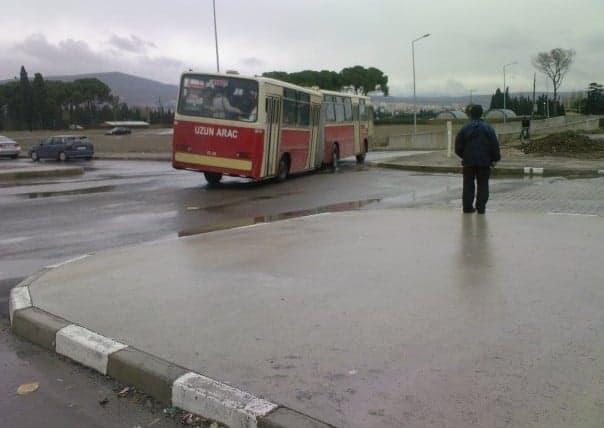 Efsane 525 Otobüs Ege Üniversitesi