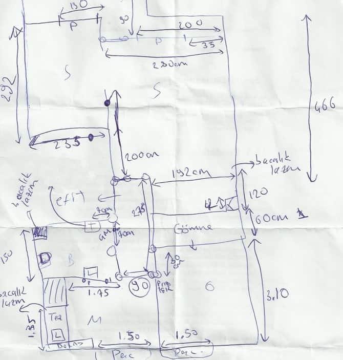 Yeni Evimin Planı :)
