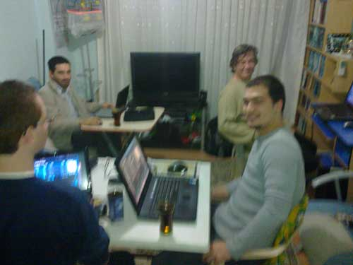 internet kafe gibi ev