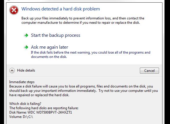 bad sector windows