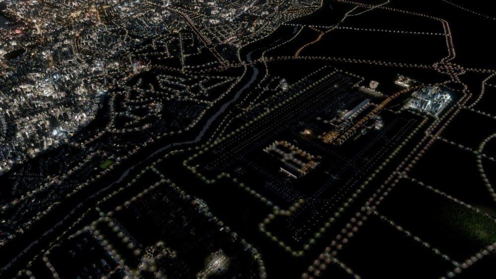 havaalani gece