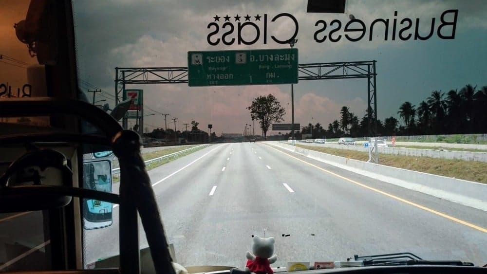 pattaya on the road