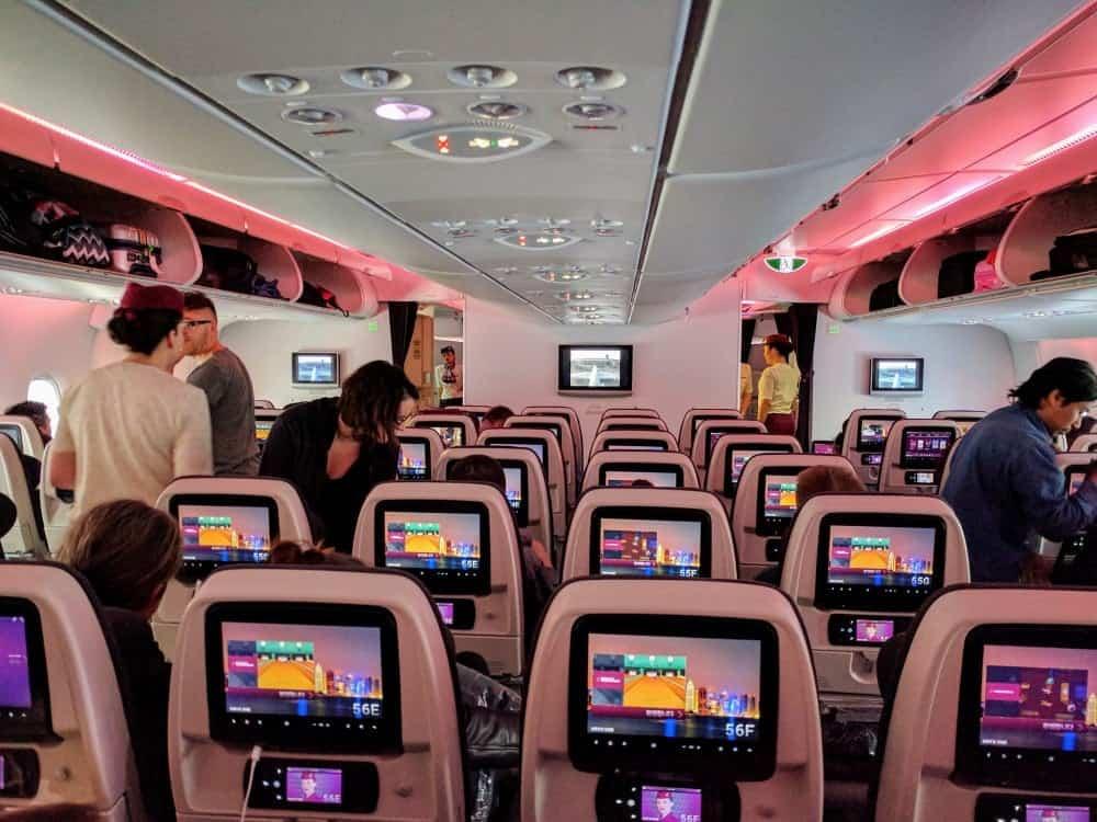 qatar a380 2