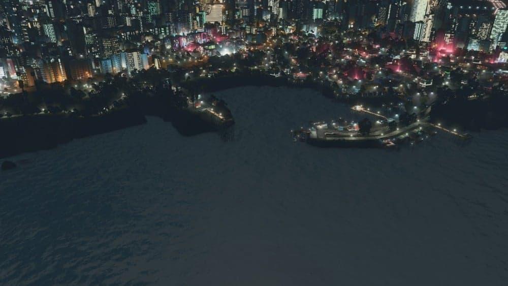 yat limani gece
